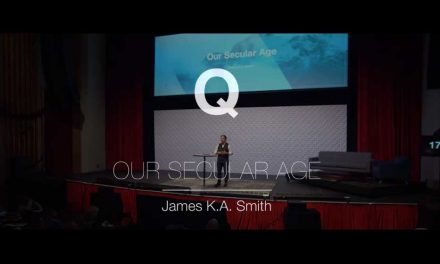 VIDEO: James K. A. Smith