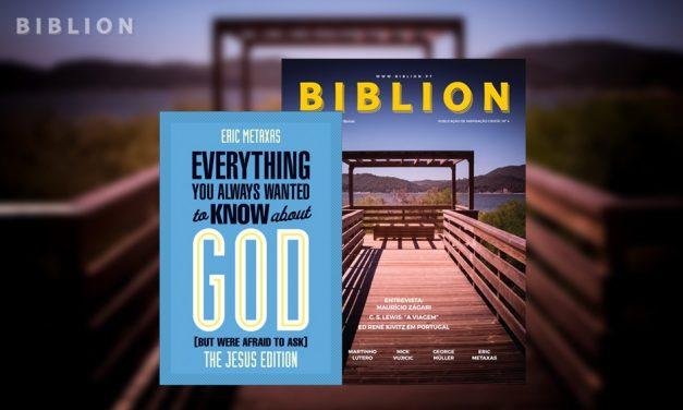 O QUE QUER SABER SOBRE JESUS? – Eric Metaxas