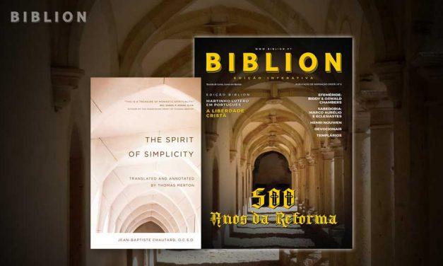 O ESPÍRITO DE SIMPLICIDADE – Jean-Baptiste Chautard & Thomas Merton (tradução)