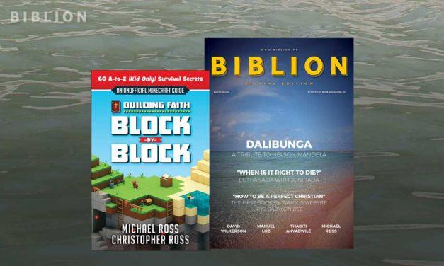 BUILDING FAITH, BLOCK-BY-BLOCK – MICHAEL & CHRISTOPHER ROSS