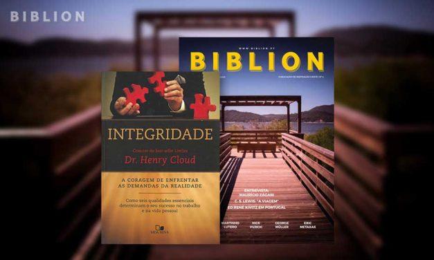 ESCOLHA DO EDITOR: INTEGRIDADE – Dr. Henry Cloud