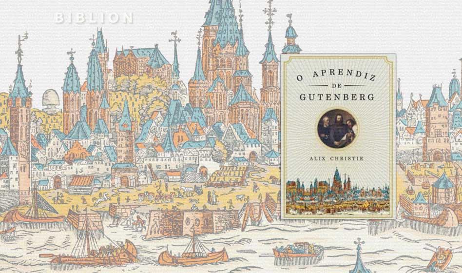 O APRENDIZ DE GUTENBERG – Alix Christie