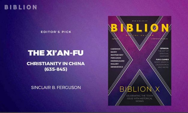 THE XI'AN-FU: CHRISTIANITY IN CHINA (635-845)