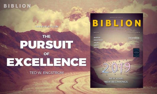 THE PURSUIT OF EXCELLENCE (EM BUSCA DA EXCELÊNCIA) – TED W. ENGSTROM