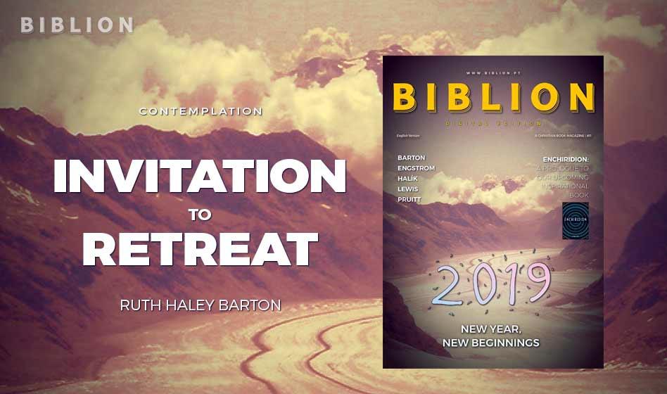 INVITATION TO RETREAT (CONVITE PARA UM RETIRO) – Ruth Haley Barton