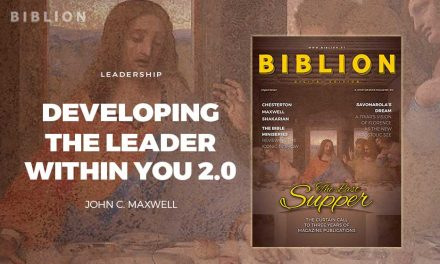 DEVELOPING THE LEADER WITHIN YOU 2.0 – JOHN C. MAXWELL