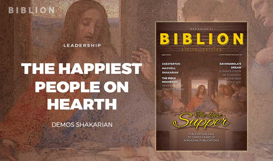 THE HAPPIEST PEOPLE ON EARTH – DEMOS SHAKARIAN