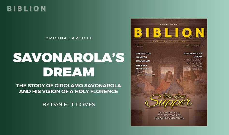 SAVONAROLA'S DREAM