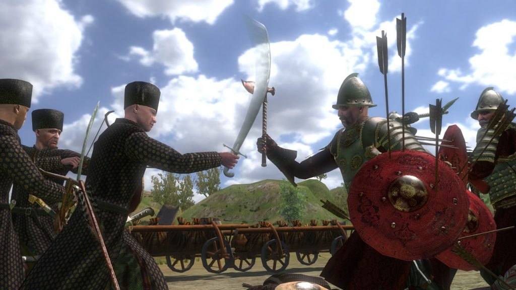 Combat gameplay Mount and Blade: With Fire and Sword