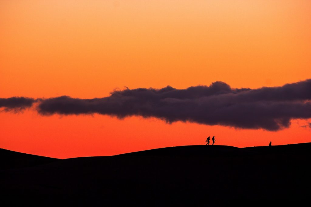 A warm, scenic sunset in Gran Canaria.